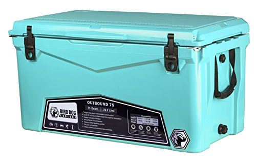 Bird Dog Coolers Outbound 20, 45, and 75 Quart Models (Seafoam,...