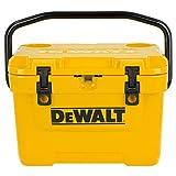 DeWalt 10 Qt Roto Molded Cooler DeWalt Yellow