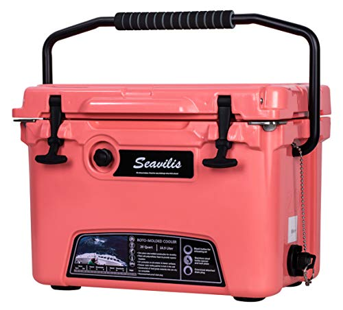 MILEE-Heavy Duty Cooler 20QT RED (Included $28.0 Accessories)...