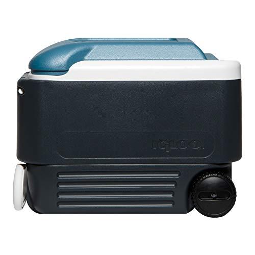Igloo Quart MaxCold Cooler, Blue/Navy, 40 Qt