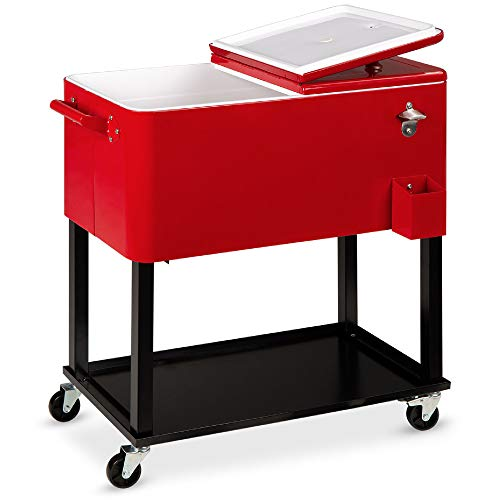 Best Choice Products 80qt Outdoor Steel...
