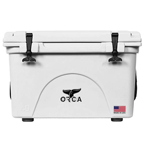 Orca Hard Sided Classic Cooler White 40 Quart