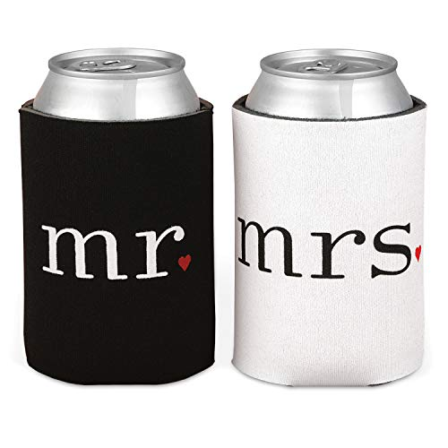 Hortense B. Hewitt Wedding Accessories Mr. and Mrs. Can Coolers...