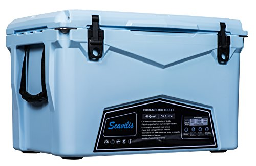 Seavilis Cooler 60qt (Sky Blue) (Including $50.0 Free...