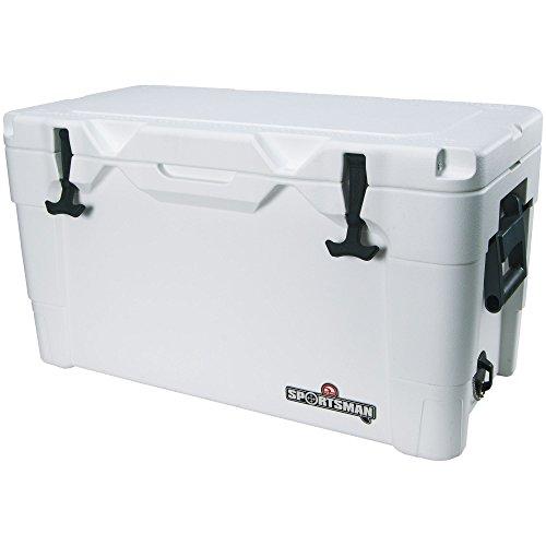 IGLOO Products Sportsman 70 Quart Cooler, White