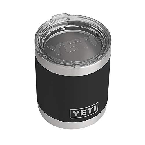 YETI Rambler 10 oz Lowball, Vacuum Insulated,...