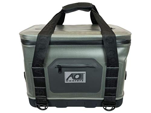 AO Coolers Hybrid Soft/Hard Cooler with High...