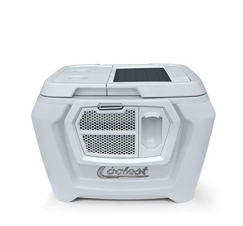 Coolest Cooler (60 Quart, Classic Orange) Premium ice Chest with...