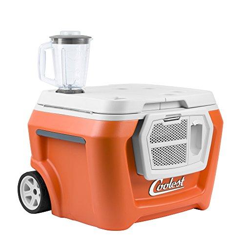 Coolest Cooler (60 Quart, Classic Orange)...
