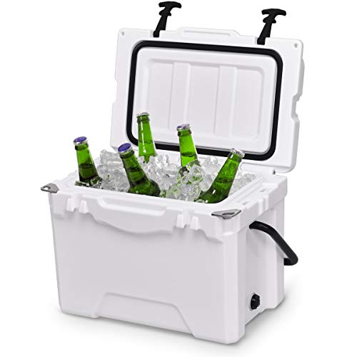 Giantex 20 Quart Portable Cooler Ice Chest Outdoor Insulated...