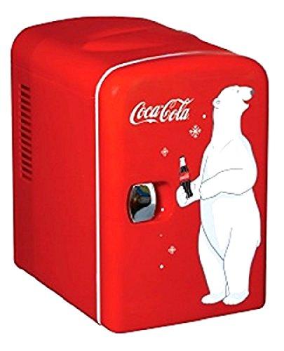Koolatron KWC-4 Coca-Cola Personal 6-Can Mini Fridge ;P#O455K5/U...
