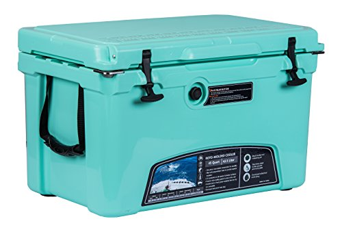 MILEE - Iceland Cooler with Divider, Basket and Cup holder, 45 QT...