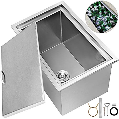 Happybuy Drop in Ice Chest 23x17x12 Inch with...