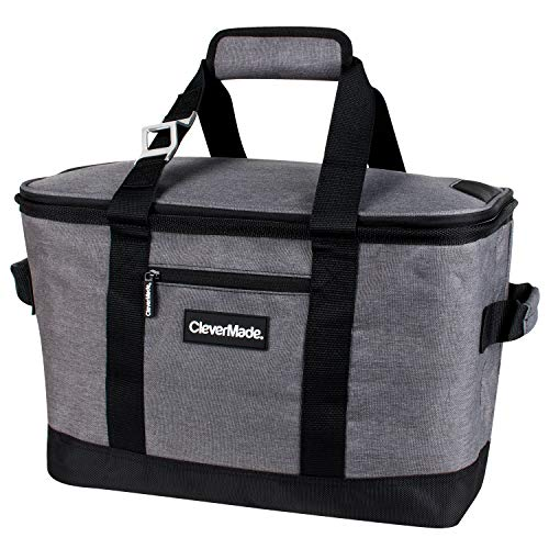CleverMade Collapsible Cooler Bag: Insulated...