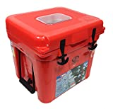 Lit Coolers Firefly TS-300 22 Qt Cooler-Red...