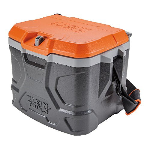 Work Cooler 17-Quart, Keeps Cool 30 Hours, Seats 300 pounds,...