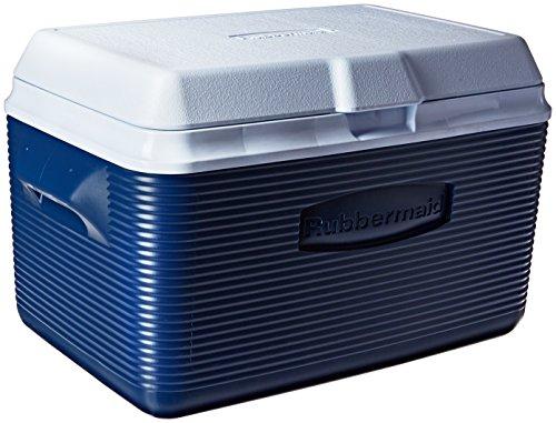 Rubbermaid Cooler, 34 Quart, Blue FG2A2002MODBL