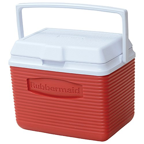 Rubbermaid Cooler, 10 Quart, Red...