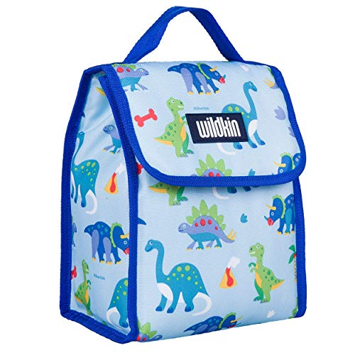 Wildkin Kids Insulated Lunch Bag for Boys and...
