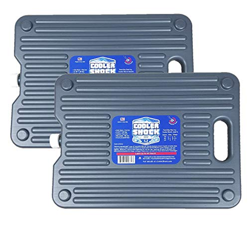 Cooler Shock Ice Packs for Coolers. Thin,...