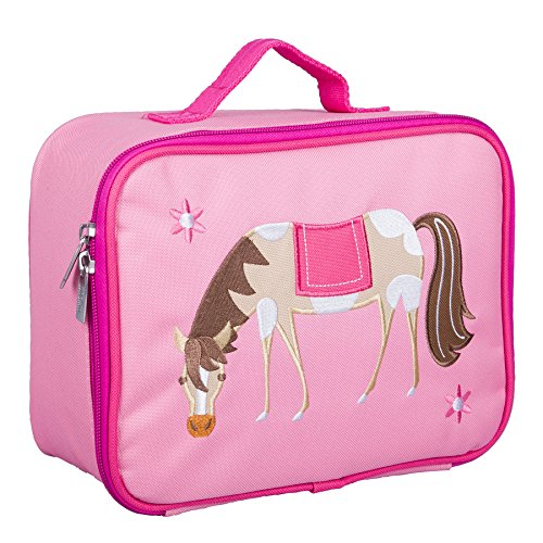 Wildkin Kids Insulated Embroidered Lunch Box...