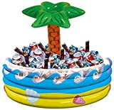 Palm Tree Oasis Inflatable Party Cooler, 14'...