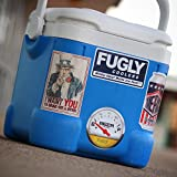 Fugly Coolers Beer 4 Pack - Stickers