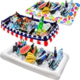 Inflatable Pool Table Serving Bar - Large...
