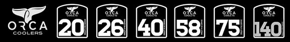 orca vs yeti - sizes