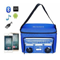 bluetooth cooler bag with speakers