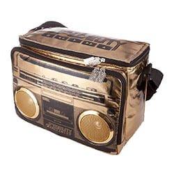 built in stereo speakers cooler