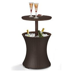 keter cool bar rattan cooler table