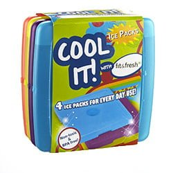 Fit Fresh Cool Coolers Best Value Ice Pack