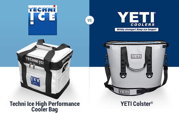 Techni Ice Cooler Bag vs Yeti Hopper
