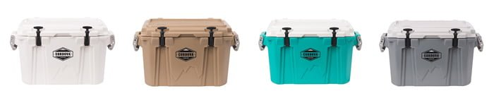 Cordova Coolers colors