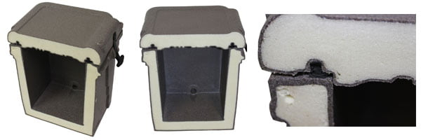 Nash Sub Z Cooler density foam