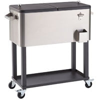 Best Outdoor Coolers Top Picks For Rolling Patio Cooler Tables Stands And Carts