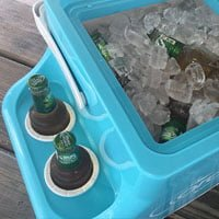arcticor ice chest cup holder