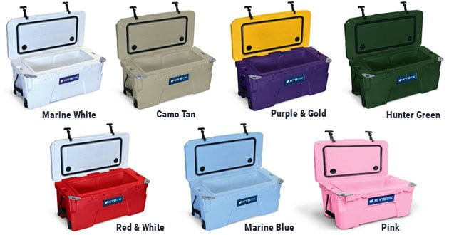 kysek coolers color