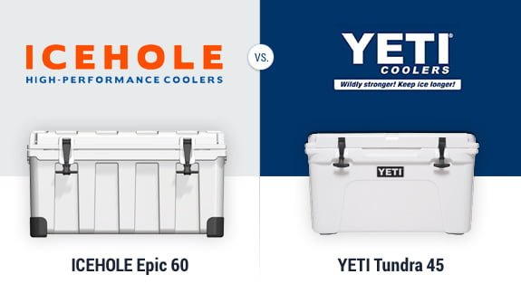 Icehole coolers vs Yeti