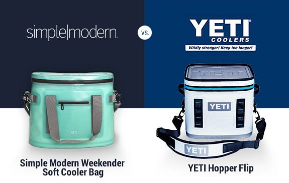 Simple Modern vs Yeti hopper flip