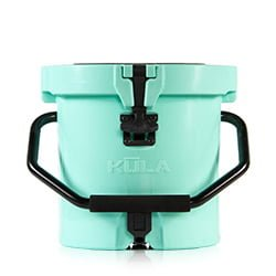 kula 2.5 round cooler with tap