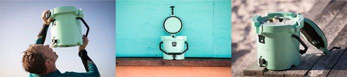 kula 2.5 cooler round tap