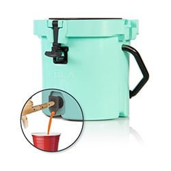 kula small cooler with tap