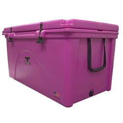 pink ice chest cooler rotomolded