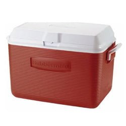 rubbermaid 48qt Cooler