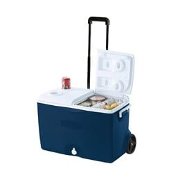 rubbermaid 60qt Wheeled Cooler