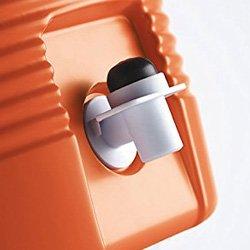 rubbermaid drip resistant spigot