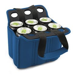 Six Pack Insulated cooler Tote