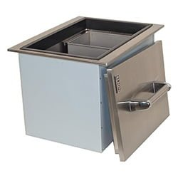 Lion Stainless Steel Drop-In Ice Bin